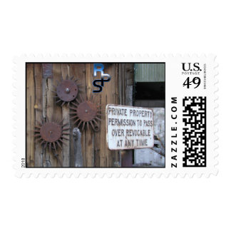 Private Property Postage