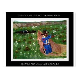 Private Randall Postcard