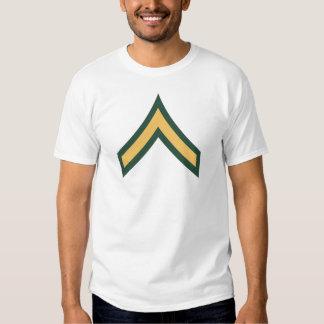 Private rank tee shirt