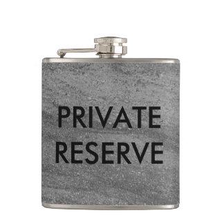 Private Reserve Dark Gray Granite Flask