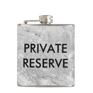 Private Reserve Gray Granite Flask