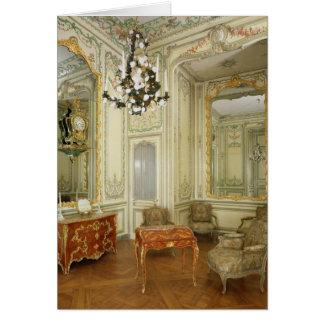 Private room of the Dauphine Marie-Josephe Card
