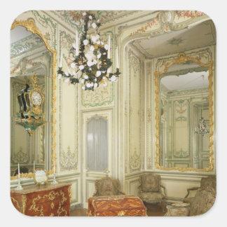 Private room of the Dauphine Marie-Josephe Square Sticker