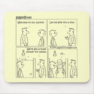 Private Shower Mouse Pad