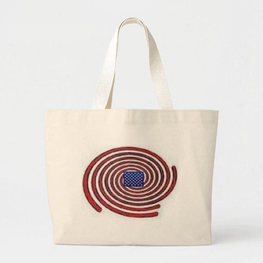 Private Space Large Tote Bag