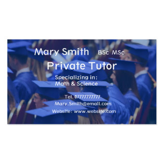 Private Tutor / Teacher / Personal Tutor business Business Card