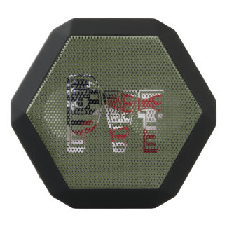 Private USA Military Army Green American Pvt Black Bluetooth Speaker