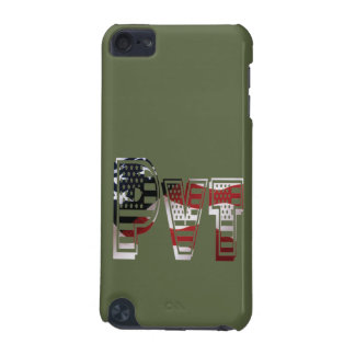 Private USA Military Army Green American Pvt iPod Touch (5th Generation) Case