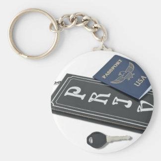 PrivateSignPassportKey101610 Llavero Redondo Tipo Pin