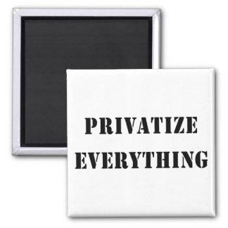 Privatice todo imán cuadrado