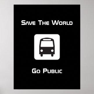 Privatiza el poster negativo