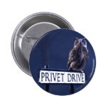 Privet Drive 2 Inch Round Button