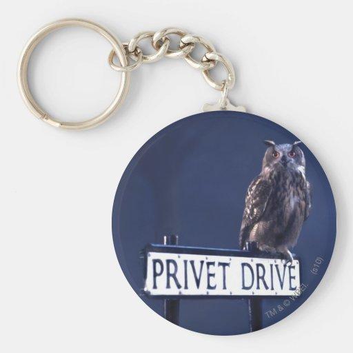 Privet Drive Basic Round Button Keychain