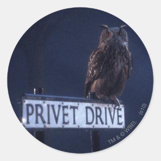 Privet Drive Round Sticker