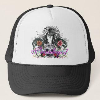 Privileged Dia De Los Muertos Trucker Hat