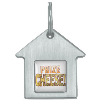 Prize Blue Cheese Pet Name Tag