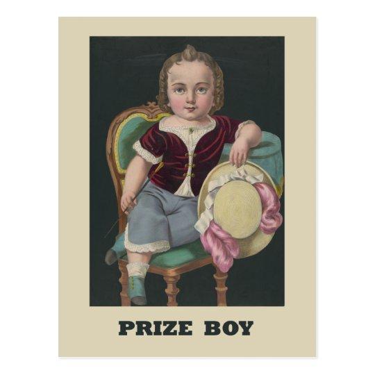 Prize boy Postcard