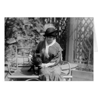 Prize Bulldog, 1910s Card