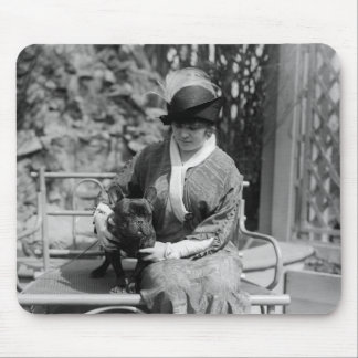 Prize Bulldog, 1910s Mouse Pad