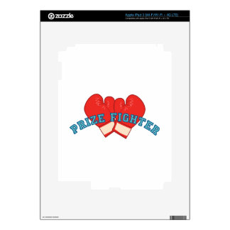 Prize Fighter Decal For iPad 3