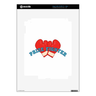 Prize Fighter iPad 2 Decal