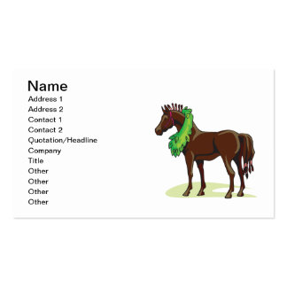 Prize Horse Double-Sided Standard Business Cards (Pack Of 100)