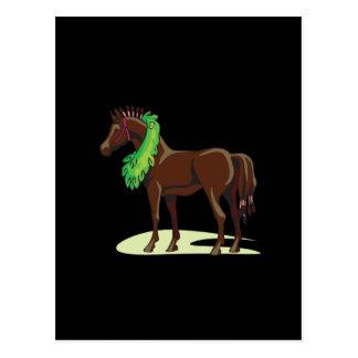 Prize Horse Postcard