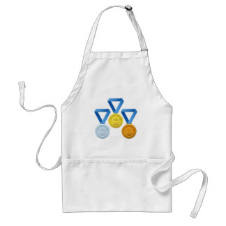 Prize medals aprons