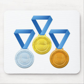 Prize medals mousepads