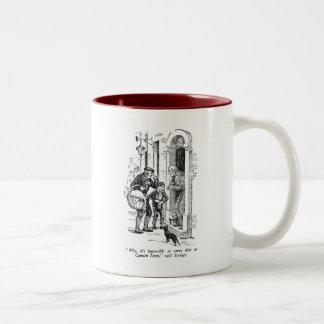 Prize Turkey (with text) Two-Tone Coffee Mug