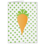 Prize Winning Carrot Stationery Note Card