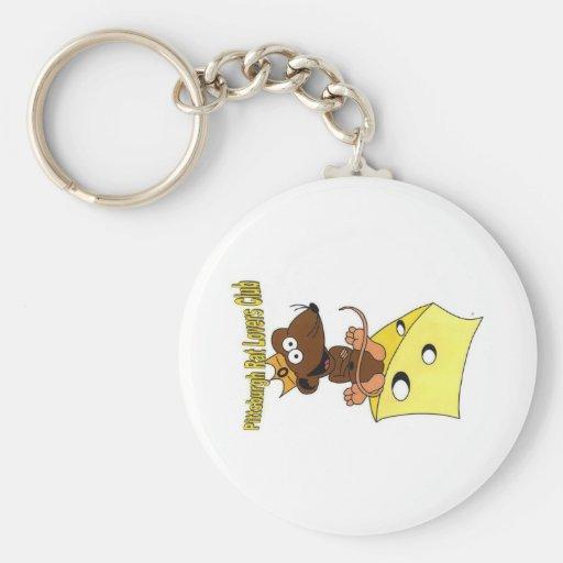 prlglogo_dk_brown, prlclogo_lt_brown_2 key chain