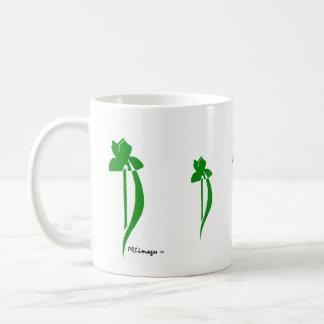 PRLimages Green Iris Mug