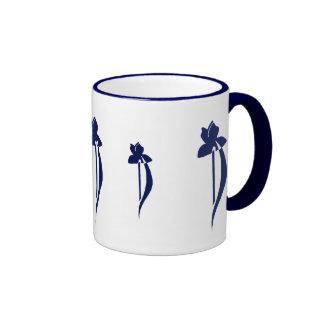 PRLimages Navy Iris Mug