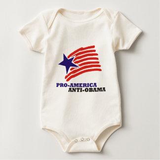 pro america anti obama baby creeper
