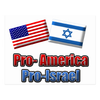 Pro-America/Israel Postcards