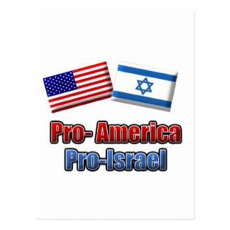 Pro-America/Israel Post Card
