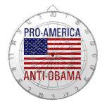PRO-AMERICAN ANTI-OBAMA DART BOARD