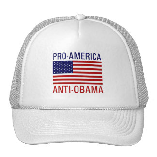PRO-AMERICAN ANTI-OBAMA GORRAS