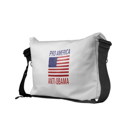 PRO-AMERICAN ANTI-OBAMA MESSENGER BAGS