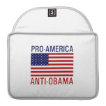 PRO-AMERICAN ANTI-OBAMA SLEEVE FOR MacBooks