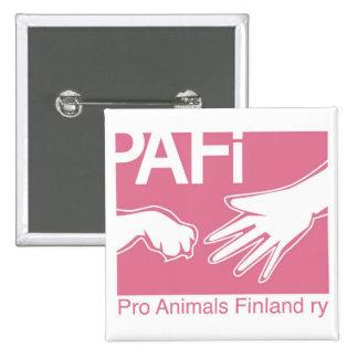 Pro Animals Finland Logo Pin