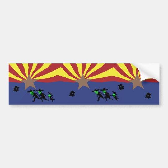 Pro Arizona Bumper Sticker