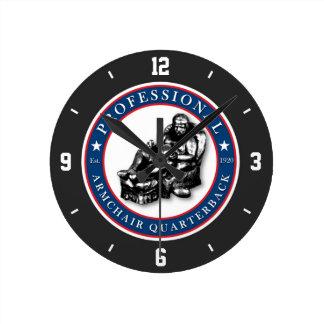 PRO Armchair Quarterback Wall Clock
