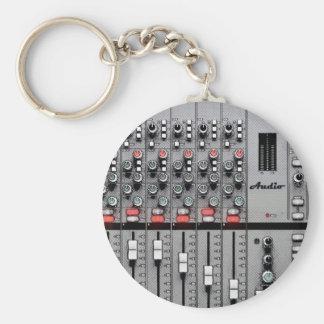 Pro Audio Mixer Keychain