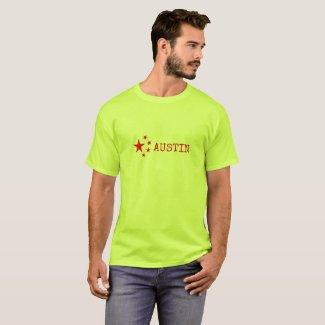 PRO-Austin Emblem/Flag Version T-Shirt
