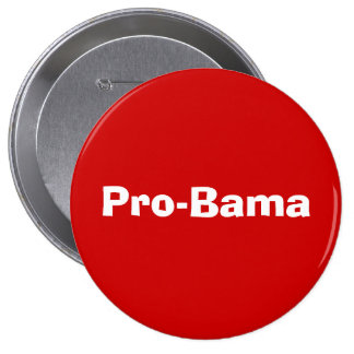 Pro-Bama Balloons Pinback Button