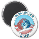 Pro-Bo Obama Dog 2012 Fridge Magnets