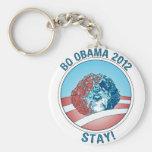 Pro-Bo Obama Dog 2012 Keychain