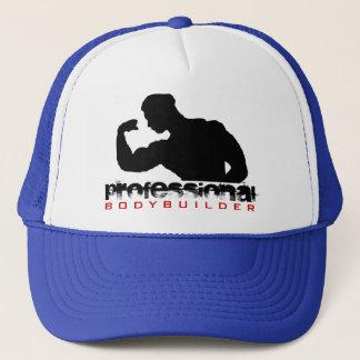 Pro Bodybuilder Black Silhouette Hat